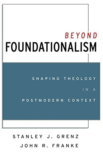 Beyond Foundationalism: Shaping Theology in a Postmodern Context by Stanley J. Grenz (2001-03-08)