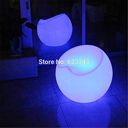 Modern plastic commercial bar furniture remote control multicolor chair rechargeable bar chair