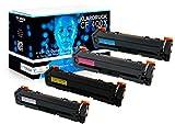 4er Set XL Toner kompatibel zu HP 201X 201A HP CF400X - CF403X kompatibel zu Color Laserjet Pro MFP M277dw M274n M274dn M252dw M252n