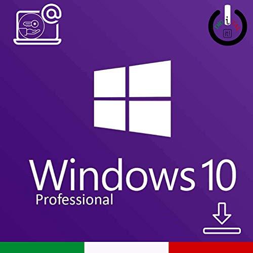 Windows 10 Pro (Professional) 32 / 64 bit key | Codice di Attivazione | Italiano | Attivazione 100% garanzia | Valido per l'aggiornamento da HOME | Consegna 1h-24h via e-mail