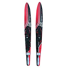 X-7 adjustable binding designed to fit US Men 4.5-13 Padded rear toe plate Great all-around ski for the whole family Performance side cut for better turning Dual tunnel enhances control and stability