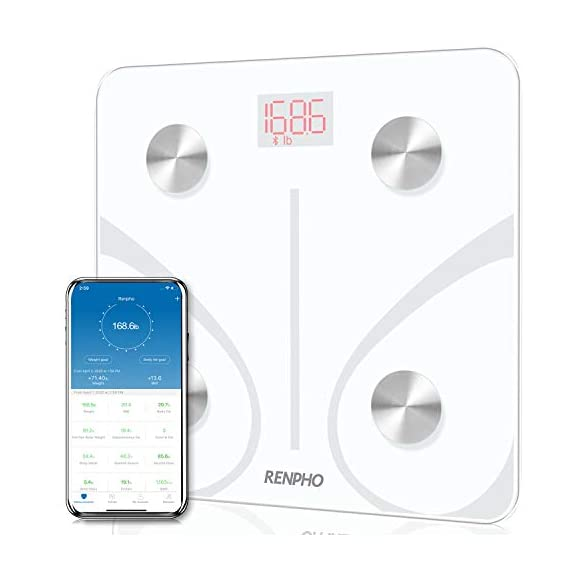 RENPHO-Bluetooth-Body-Fat-Scale-Smart-BMI-Scale-Digital-Bathroom-Wireless-Weight-Scale-Body-Composition-Analyzer-with-Smartphone-App-396-lbs