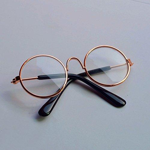 Fuwahahahahahah Puppe Coole Brille, Haustier-Sonnenbrille, für BJD Blyth amerikanisches Mädchen-Spielzeug, Foto-Requisiten 4