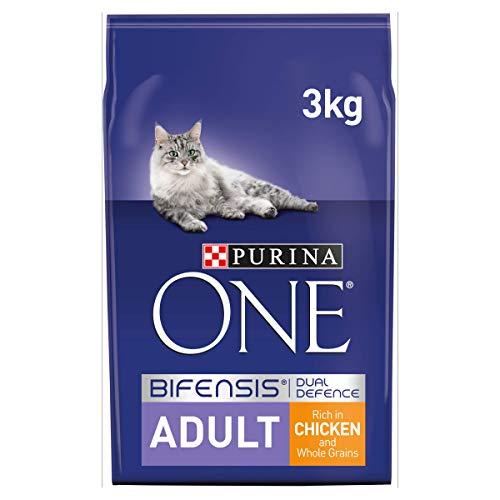 PURINA ONE Trockenfutter für Katzen, 200 g, 6 Stück