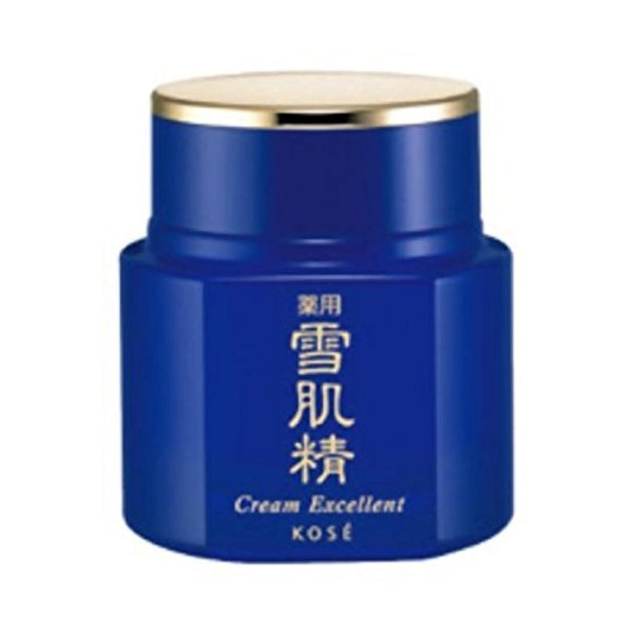 取得傾く半円コーセー 薬用 雪肌精 クリーム エクセレント 50g