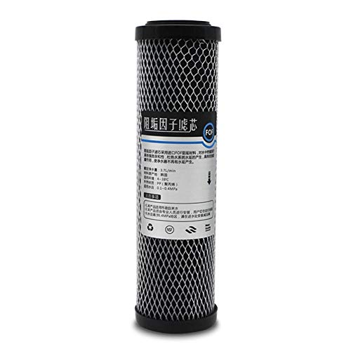 Hmg 2 PCS de 10 Pulgadas de cáscara de Coco Filtro de carbón Activo del hogar purificador de Agua Filtro