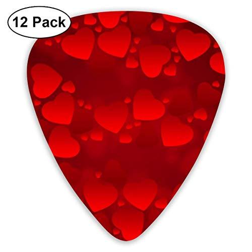 Klassische Gitarre Picks Hearts Hintergrund Plektren Instrument