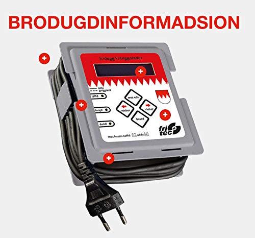 Fritec BV11943 Frankenlader - intelligentes Batterieladegerät mit Dialekt. Für alle gängigen 12 Volt Batterien wie Lithium (LiFePo4), Blei, Gel, AGM und Rein-Blei-Zinn Akkus