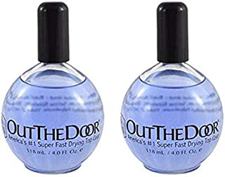 INM Out the Door Super Fast Drying Top Coat 106 ml/3.6 oz REFILL (2 Pieces) | NO BRUSH INCLUDED