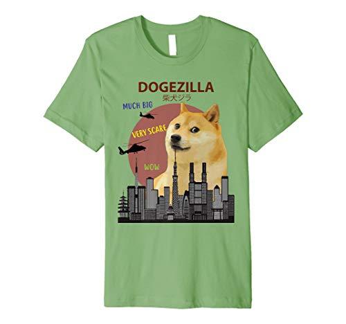 dogezilla T-Shirt | Funny Doge Meme Shiba Inu Hund Tee