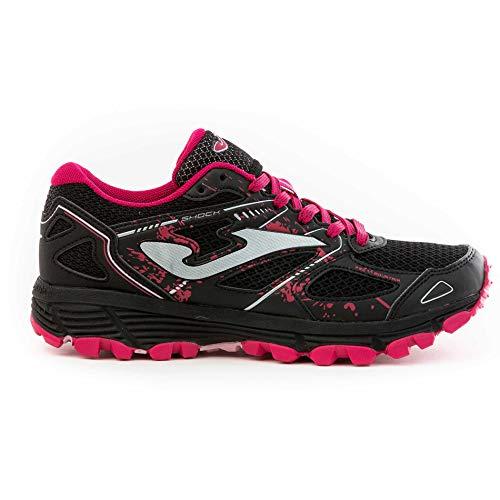 Joma TK.Shock Zapatillas Trail-Running para Mujer (Negro, 36)