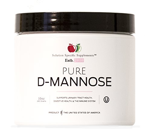 Pure D-Mannose Powder Supplement - Bulk D-Mannose 10oz (283 g) 120 Servings for UTI, Bladder, Urinary Tract Health