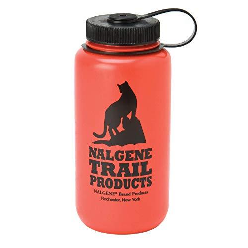 Nalgene HDPE BPA Borraccia Rossa, 3.5oz
