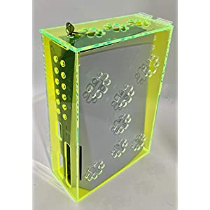 Playstation 5 Security/Protection Box - Fluorescent Green - Compatible with Playstation 5 Standard and Digital