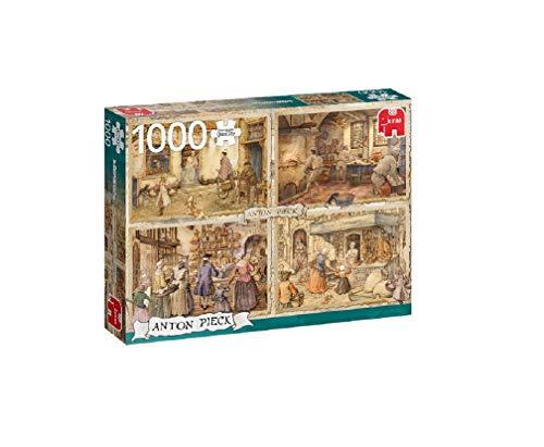 Jumbo 18818 Anton Pieck-Bakers z XIX wieku 1000 elementów puzzle