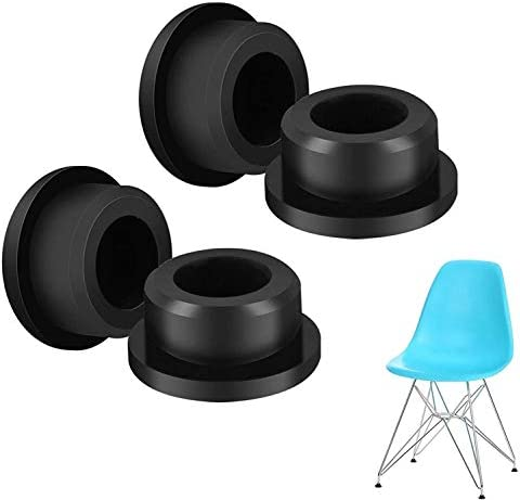 EEEKit Chair Foot Protector Caps 4 Pack Chair Glides Replacements for Eames Eiffel Style Chair product image