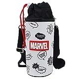 マーベル[ペットボトルホルダー]ショルダー付き 保冷 ボトルケース/ロゴチラシ MARVEL