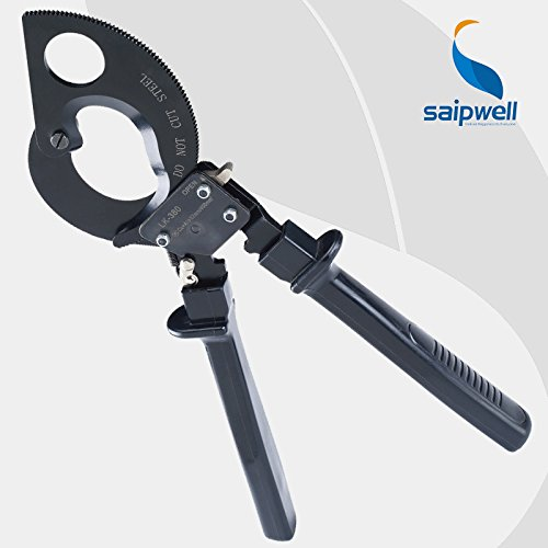 LK-380 Pince coupante à cliquet : 380 mm² max. Ne convient pas pour couper l'acier ou l'acier.