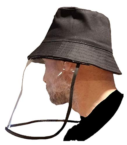 Corona Virus protection products Face Mask Hat With Frontal Shield – Cap with Visor Screen for Saliva and Sneeze