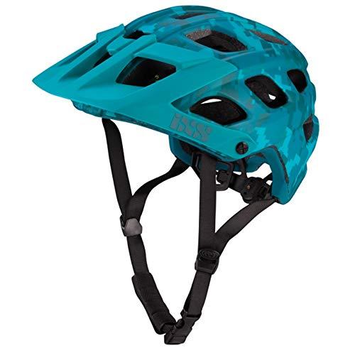 IXS Enduro-Helm Trail RS EVO Lagoon Camo Limitierte Edition M/L 58-62 cm