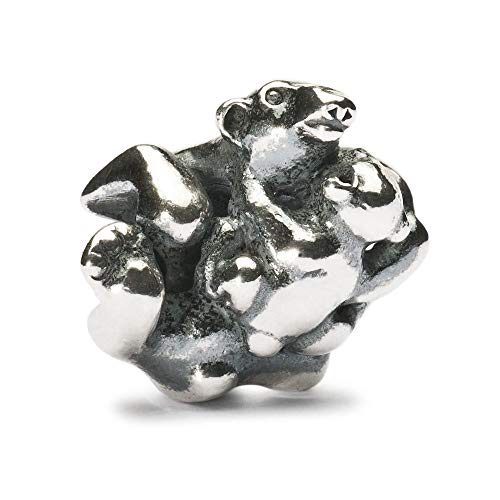 Trollbeads Silber Bead Eisbär mit Baby