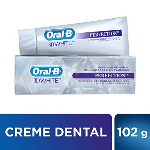 Creme Dental Oral-B 3D White Perfection, 102g