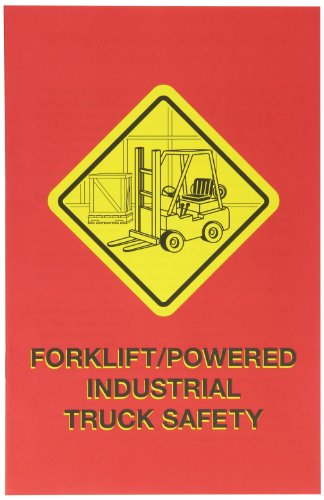 MARCOM Forklift/Powered Industrial Truck Safety Employee Booklet (Pack of 15)