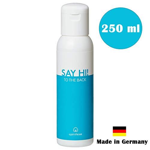 Lustinesse® Anal Gleitgel wasserbasiert PREMIUM (100ml oder 250ml) Aqua Gleitmittel auf Wasserbasis mit Langzeitwirkung   Intimgel sensitiv
