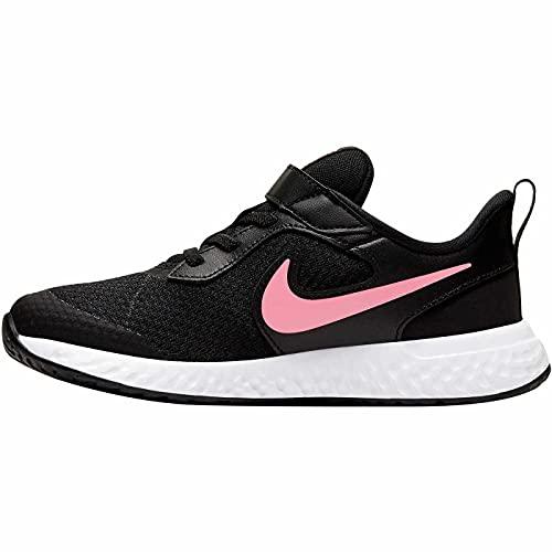 "Nike Revolution 5"", Zapatillas, Negro (Black White Anthracite), 30 EU"