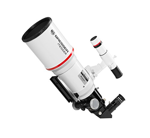 Bresser Messier Refractor AR-102X S/460telescopio con Hexafoc Ocular–Color Blanco