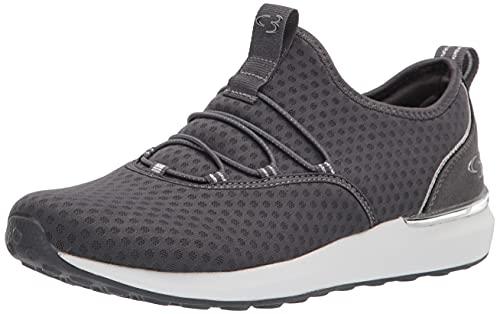Concept 3 by Skechers Women's Alexxi Fashion Slip-on Sneaker, Charcoal Grey, 8...