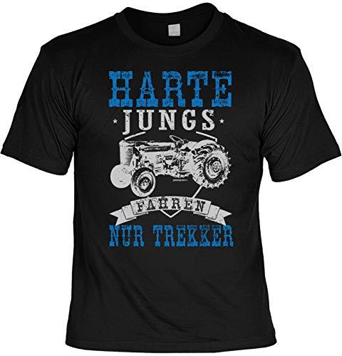 Laiberl Motief Kerstmis T-shirt hard jong rijden alleen trekker boer man boeren cadeau-idee boerengeschenk boerderij