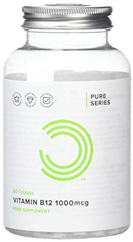 BULK POWDERS Vitamin B12 Tablets, 1000 mcg, Pack of 60