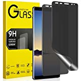 Maxwolf Galaxy Note 8 Privacy Screen Protector, [Anti-Spy] [Case Friendly] [Full Coverage]...
