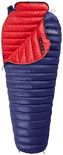 KDKDA El tiempo frío Saco de dormir de camping o senderismo impermeables adultos o adolescentes dormir cojín Ligera Camping Cabañas Saco de dormir adulto Saco de dormir abajo del saco de dormir al air