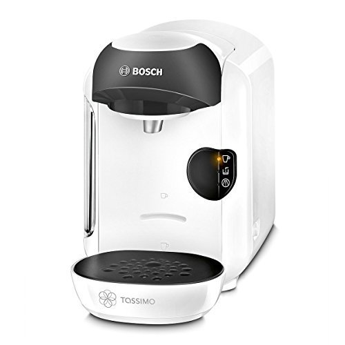 Tassimo by Bosch T12 Vivy Coffee Hot Drinks and Hot Chocolate Tea Latte Cappuccino Machine - White by Tassim Vivy