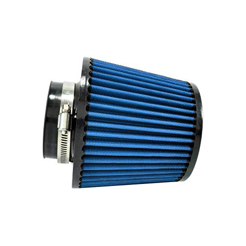 Universal - Filtro de Aire Deportivo (165 mm, 76 mm), Color Azul