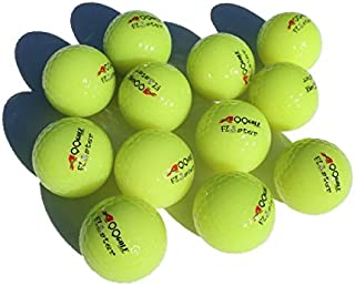 48pcs Golf Floating Floater Neon Green Golf Balls Practice Range Outdoor