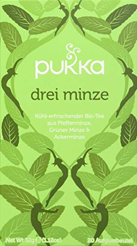 Pukka Tea - Pukka Tea - All Products for On-line Discounts - Pukka Tea - Three Mint