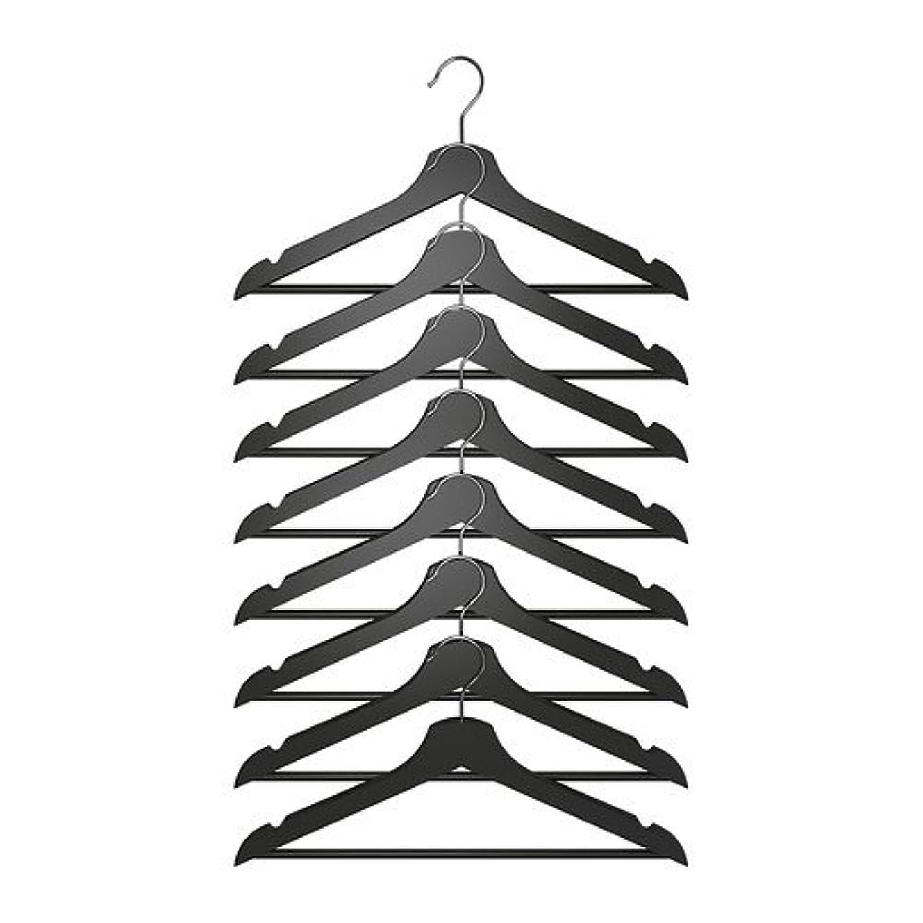 芸術的正確に法律IKEA(イケア) BUMERANG ブラック 50217375 洋服ハンガー、ブラック