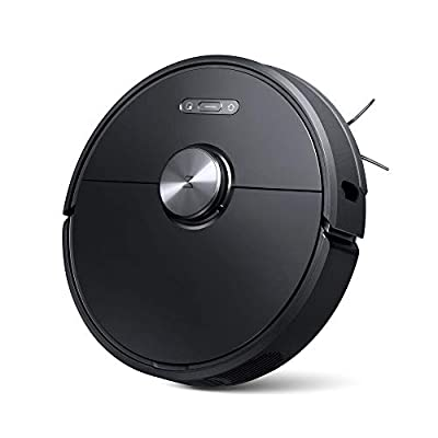 Roborock S6 Robot Vacuum, Robotic Vacuum Cleaner and Mop with Adaptive Routing, Multi-Floor Mapping, Selective Room Cleaning, Super Strong Suction, Extra Long Battery Life, APP Alexa Voice Control