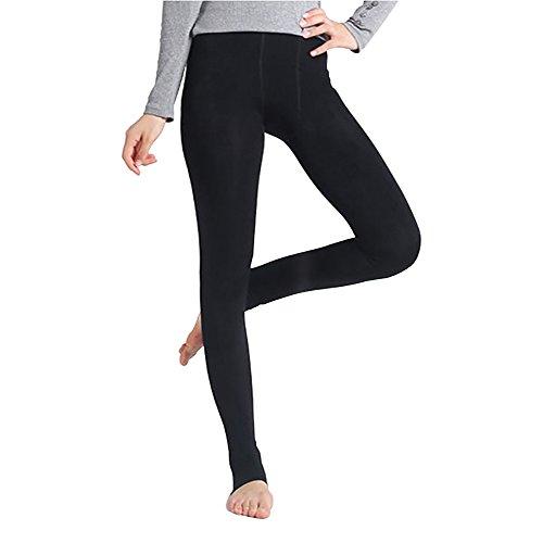 StillCool Sexy Damen Winter Leggings im Angesagten Style mit Innenfleece Extra warm Innenfutter Fleece Leggins