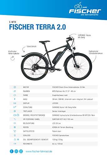 E-MTB FISCHER  MTB Terra 20 (2019) E-Mountainbike kaufen  Bild 1*