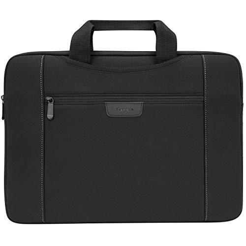 Targus Slipskin for 15.6-Inch Laptop Sleeve with Hideaway Handles, Black (TSS995GL)