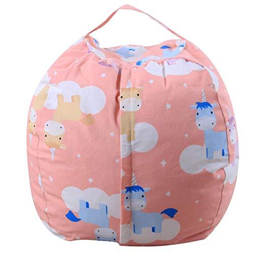 Bolsas de almacenamiento suaves, de peluche, de tela grande, para niños, para sala de estar, dormitorio, ordenar