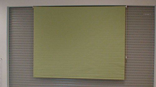 DECOSOL Fenster Rollo aus Textil 210cm x 180cm breit Grün (90cm x 170cm)
