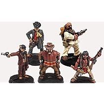 Pre-painted Miniatures: Wild Old West Heroes Set 1