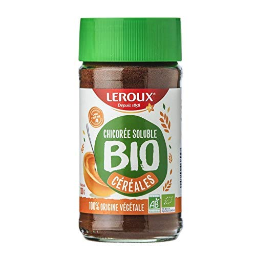 LEROUX - Chicoree Soluble Cereales Bio 100G - Lot De 4 - Offre Special