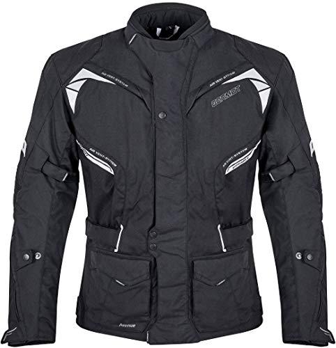 Germot Avenue Motorrad Textiljacke Schwarz 3XL