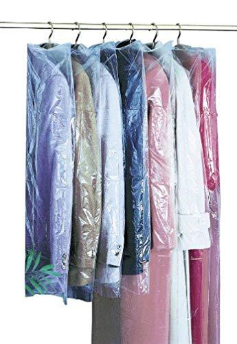 WENKO Housse antimite - set de 6, au parfum de lavande, 3 de 65 x 100 cm et 3 de 65 x 150 cm, Polyéthylène, 65 x 100 cm, Vert